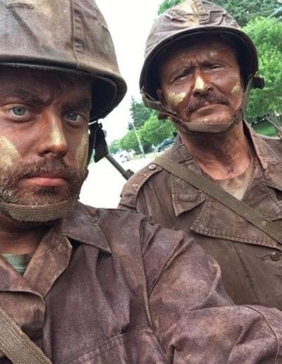 Bronzed Uniform & Gear