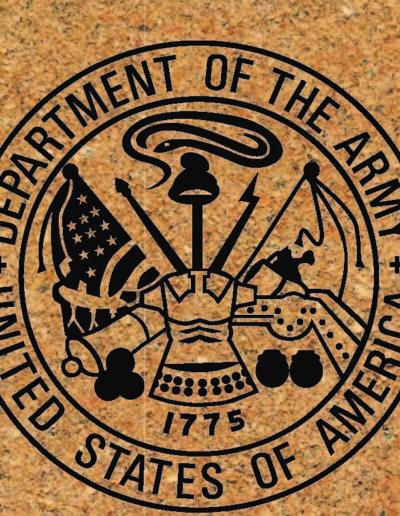 Army Commemorative Brick Design