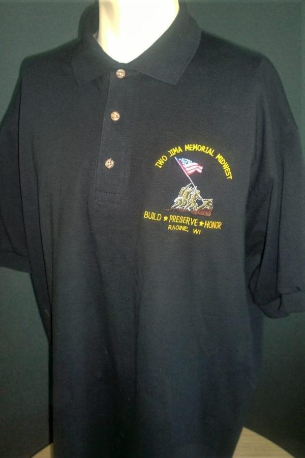 IJMM Premium Color Embroidered Polo Shirt - Men's